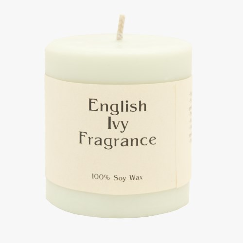 English Ivy 14oz Pillar Soy Candle