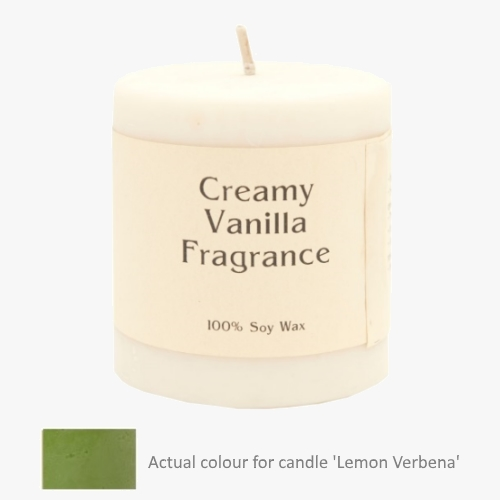 Lemon Verbena 14oz Pillar Soy Candle